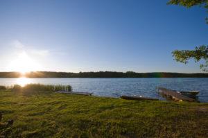 siedlisko bartek kaszuby domki letniskowe nad jeziorem